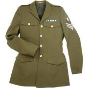 Mens Army Tunic Dress Uniform