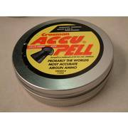 Accupell Domed .22 Pellets (Tin 500)