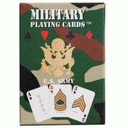 US Army Playing Cards