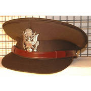US WW2 Style Officers Cap