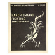US Army Hand-to-Hand Fighting Book