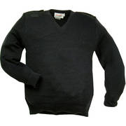 British Police Wool Pullover