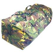 Dutch Large Camo Holdall