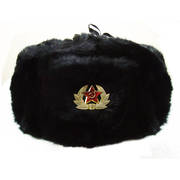 Rabbit Fur Cossack Hat (Ushanka)