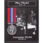 Miniature Medal - War Medal 1939-45