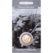WW1 Coin Pack - George V Halfpenny