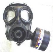 British S10 Gas Mask with Filter