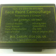 Expired 3 Colour Camo Face Paint
