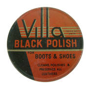 Original WW2 Black Boot Polish