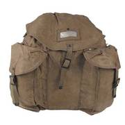 Italian Canvas Back Pack
