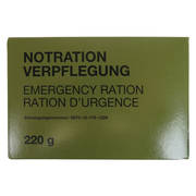 German Army Emergency Ration Kit
