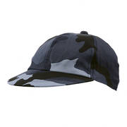 Kids Blue Camo Baseball Cap