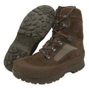 Ex-Army Brown Combat Boots - Haix Desert Scout
