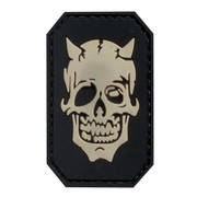 PVC Badge - Devil Face