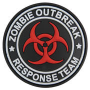 PVC Badge - Zombie Outbreak Response Team