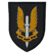 PVC Badge - SAS Who Dares Wins