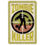 Zombie Killer Cloth Badge