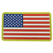 PVC Badge - USA Flag