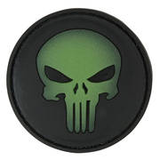 PVC Badge - Punisher Skull