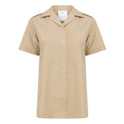 New Womens Short Sleeve Fawn Blouse (No.2 FAD)