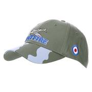 Spitfire Baseball Cap with Camo Peak
