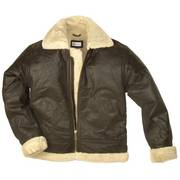 Fur Lined Flying Jacket