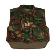 Kids Padded Camouflage Action Vest (Bodywarmer)
