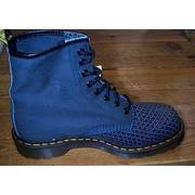 Doc Martens Gothic Denim Canvas Boots