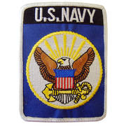 US Navy Cloth Badge