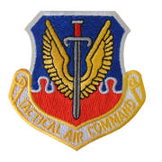 Tactical Air Command Cloth Badge