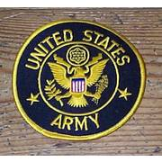 Large US Army Cloth Badge
