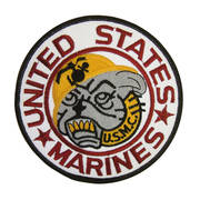 US Marines Cloth Badge