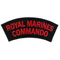 Royal Marines Shoulder Flash