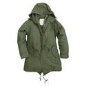 Womens M51 Style Fishtail Parka