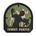 PVC Badge - Zombie Hunter