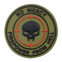 PVC Badge - No Mercy