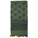 Skull Shemagh Scarf