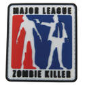 PVC Badge - Major League Zombie Killer