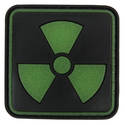 PVC Badge - Radiation Warning Sign