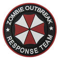 PVC Badge - Zombie Outbreak Umbrella