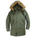 Alpha Industries Vintage Fishtail Parka