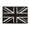PVC Badge - Union Jack Subdued