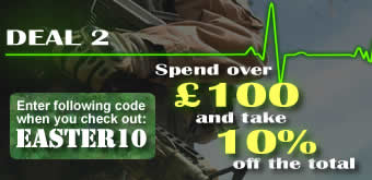 Voucher code EASTER10 - 10% off �100