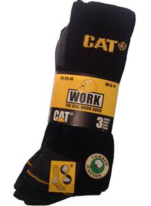 Pack of 3 CAT Work Socks