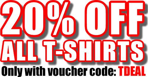 20% Off T-Shirts