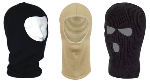 3 Styles of Balaclavas