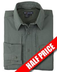 5.11 Long Sleeved Tactical Shirt