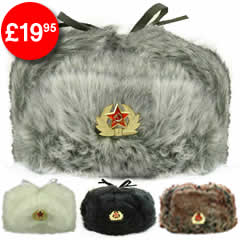 Acrylic Fur Cossack Hats