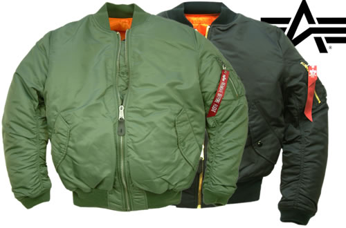 Alpha Industries MA1 Flight Jackets