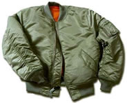 Alpha Industries MA1 jacket